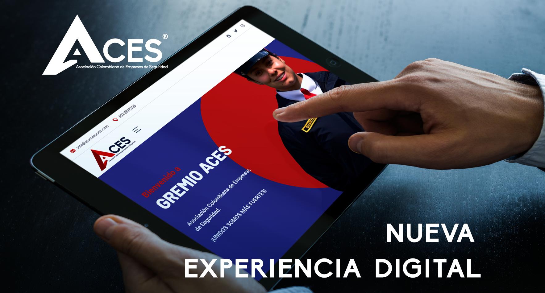Nueva Página Web ACES